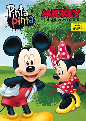 Mickey y sus amigos. Pinta Pinta: Libro para colorear por Disney,Editorial Planeta S. A.