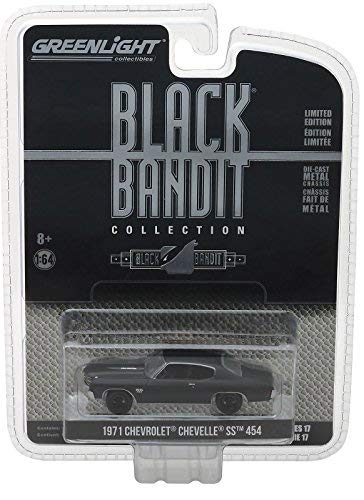 (Greenlight Black Bandit Collection Series 17 Limited Edition - 1971 Chevrolet Chevelle SS)