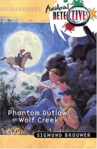 book cover of Phantom Outlaw at Wolf Creek