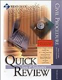 Civil Procedure Quick Review 9780314262868
