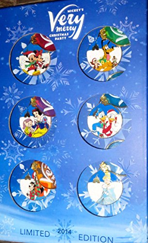 2014 Disney Mickey's Very Merry Christmas Party Box Set with Completer Pin LE 900 by Disney Parks