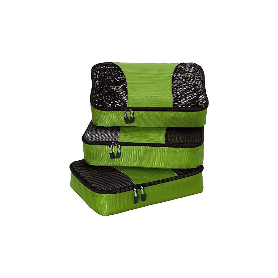 eBags Medium Packing Cubes for Travel 3pc Set