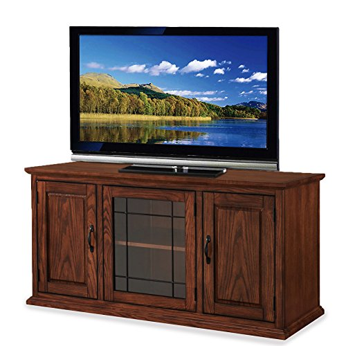 Leick 80350 Riley Holliday TV Stand Burnished Oak Tv