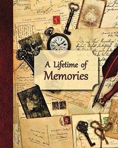 - A Lifetime of Memories: A guided journal for your Grandma, Grandpa or parent to record their memories and life experiences (Gift for grandparents and parents)