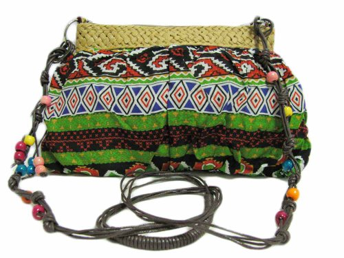 Indan Bohemian Boho Ethnic Cotton Hand Bag Print Shoulder Tribal Crossbody TwqHRZT
