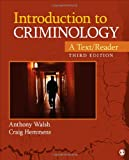 Introduction to Criminology : A Text/Reader, Walsh, Anthony and Hemmens, Craig T., 1452258201