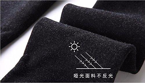 GBHNJ Leggings Coton Collants Transparent Plus Épais Étape Sur Le Pied Peut Se Porter À LExtérieur WomenS LAutomne Et LHiver Noir Thermique F(Poids Approprié 80-130 Catty)