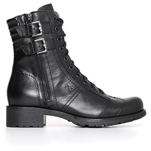 Zapatillas Altas Negro Mujer Giardini Nero tqBEOO