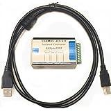 EZSync USB to RS-485/RS-422 Magnetic Isolated Serial Converter (White CASE), EZSync2303 (Color: WHITE)