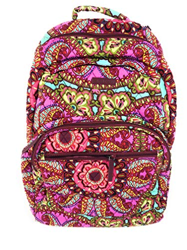 Vera Bradley Essential Large Backpack Cotton Resort Medallion