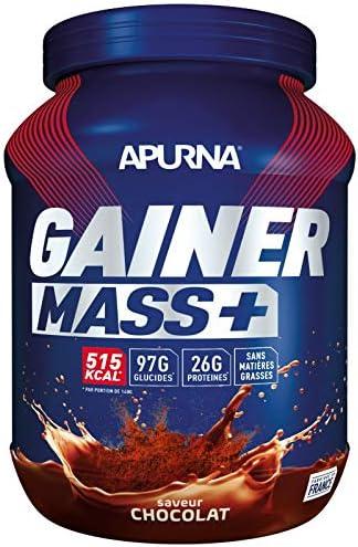APURNA Pot Gainer Mass Plus - Chocolat - 1.1 Kg: Amazon.es ...