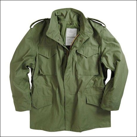 (Alpha Industries Men's Driver Jacket, Olive Green, X-Large)
