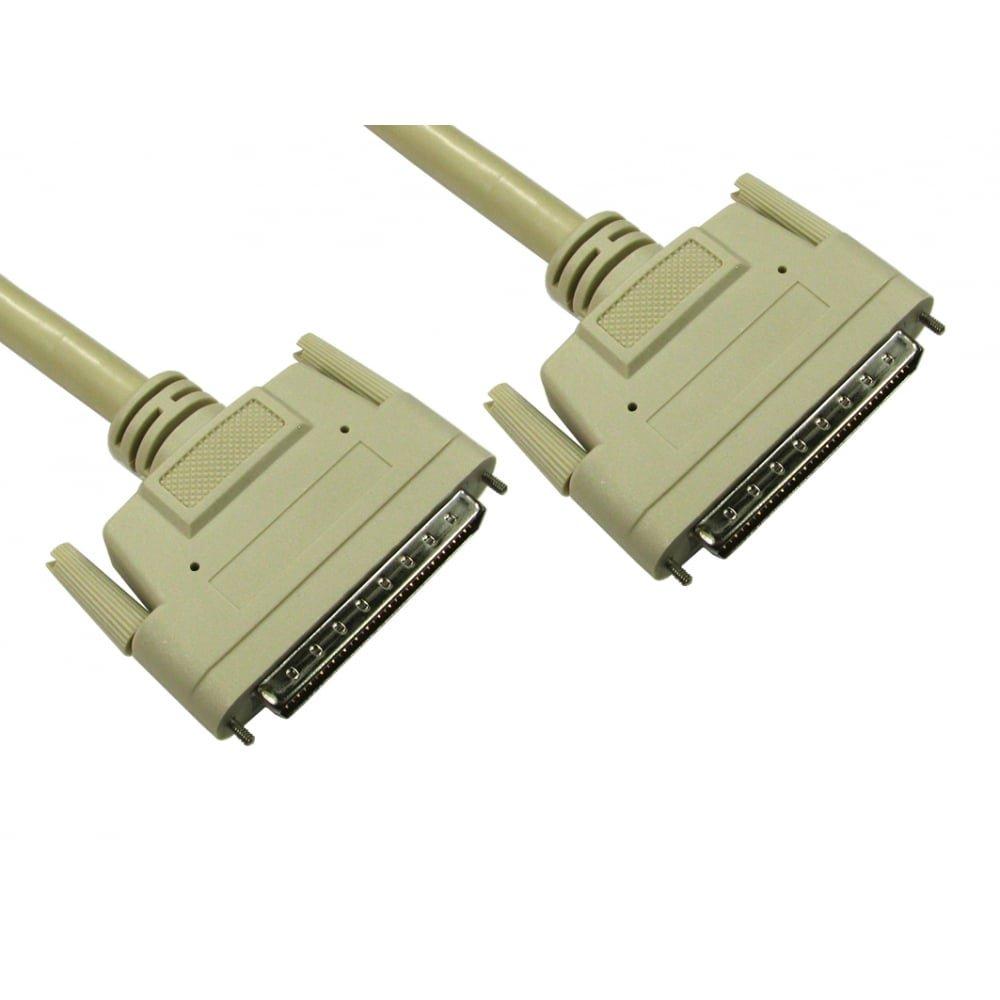 Bluecharge Direct SCSI 3/moiti/é Pitch 68/m/âle vers m/âle c/âble plomb 1 m beige