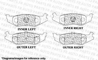 Front Kit Heavy Tough-Series Fits:- Subaru 2 Cross-Drilled Disc Brake Rotors 4 Ceramic Pads 5lug