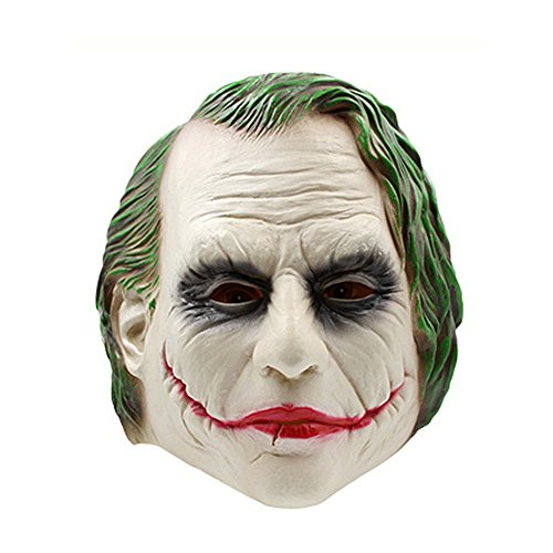 Halloween Horror Fake Mask Batman Dark Knight Clown Mask Film Muffle Dance Mask