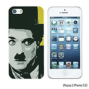 OnlineBestDigitalTM - Celebrity Star Hard Back Case for Apple iPhone 5S / Apple iPhone 5 - Chaplin