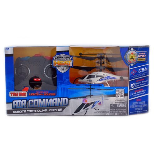 Remote Control Helicopter Police Air Command (White) Reviews