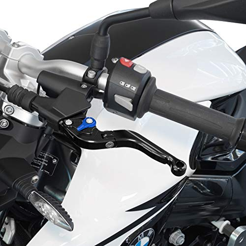 Motorrad Bremshebel /& Kupplungshebel Set SW//BL V2 Klappbar ABE f/ür Aprilia Tuono V4 1100 Factor//RR//R