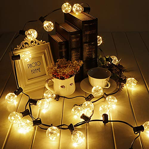 Outdoor Rattan Ball Lights in US - 4