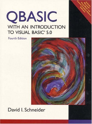 Download QBASIC with an Introduction to Visual BASIC 5 0 book pdf