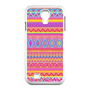 DIY Aztec Chevron Personalized Hard Back Cover Case for Samsung Galaxy S4 I9500