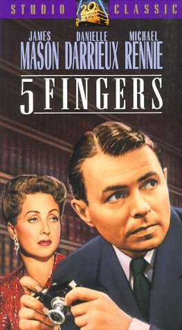 5 Fingers [Vhs]