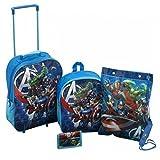 Sambros AVE-8102-ARG Avengers Trolley Set (4-Piece)