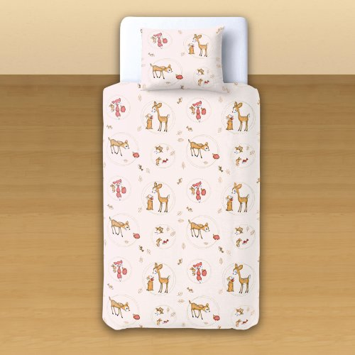 Baby Deer & Friends - SoulBedroom 100% Cotton Bed Set (Duvet Cover 39