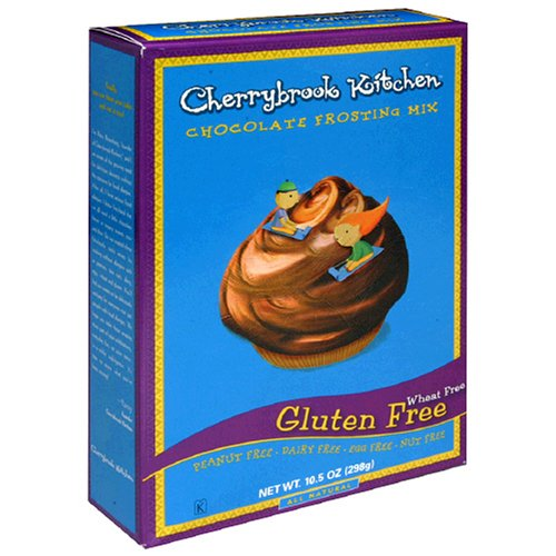 Gluten Cherrybrook Kitchen Free (Cherrybrook Kitchen Gluten Free Chocolate Frosting Mix, 10.5-Ounce Boxes (Pack of 6))