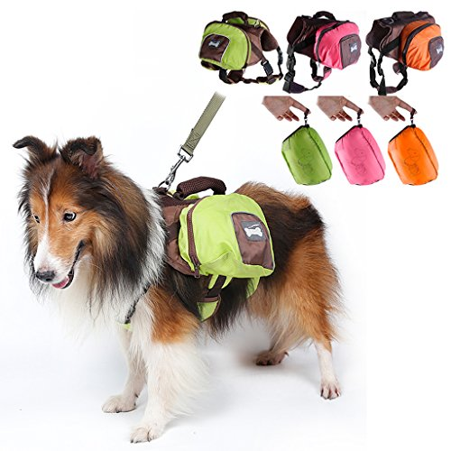 MagiDeal Dog Foldable Backpack Waterproof Portable Travel Outdoor Bag Pack Green M by MagiDeal (Image #8)