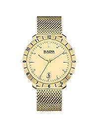 Bulova Men's Accutron II 97B129 Gold Stainless-Steel Quartz Watch