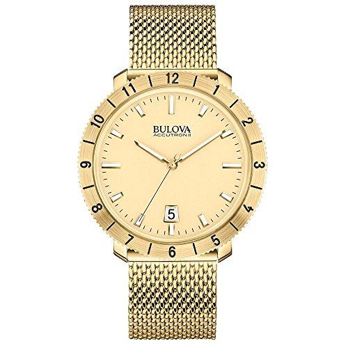 Bulova 97B129 Men's Watchs BA11 Gold Steel Bracelet Watch ()