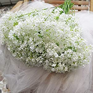 EmiveryBaby Breath/Gypsophila Wedding Decoration White Colour Real Touch Artificial Flowers Home Decor Gift 12 Pieces/lot 87