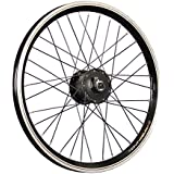 Taylor Wheels 20 pouces roue avant vélo chambre creuse moyeu dynamo noir