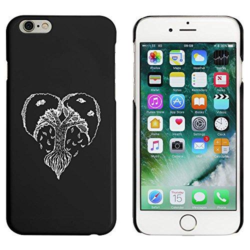 Noir 'Arbre du Coeur' étui / housse pour iPhone 6 & 6s (MC00050681)