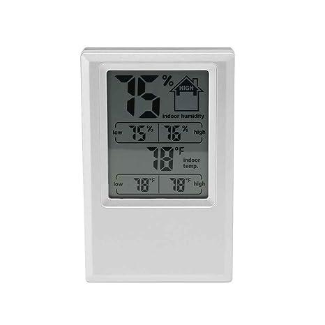 Laileya Digital termómetro higrómetro interior Valor Max Min nivel de comodidad de visualización