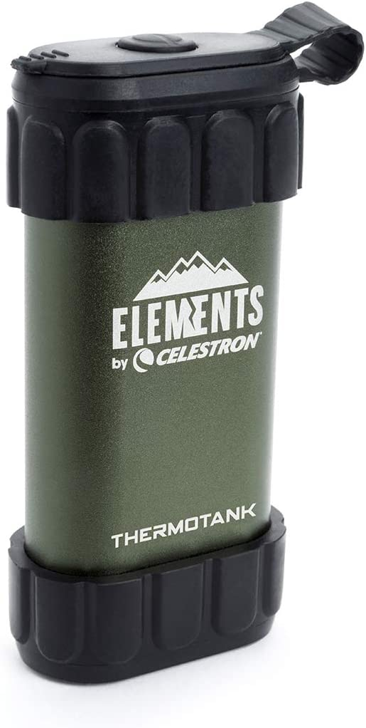 Hand Warmer Green Celestron 48011 Stay warm on the trail ThermoTrek