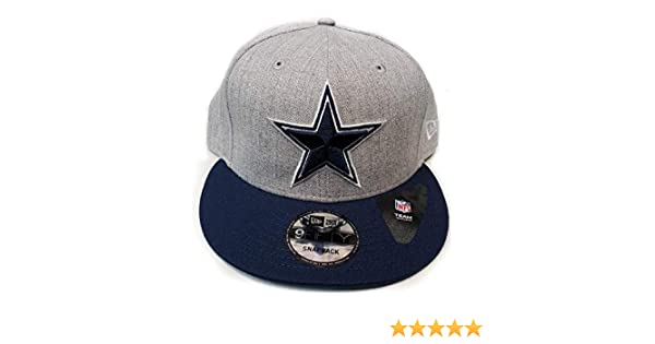 a82feb341 Amazon.com   Dallas Cowboys New Era Heather Grand Snapback   Sports    Outdoors
