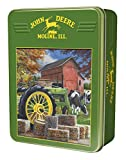 MasterPieces John Deere Old Friends - Model B Tractor 1000 Piece Tin Box Jigsaw Puzzle by Kevin Daniel