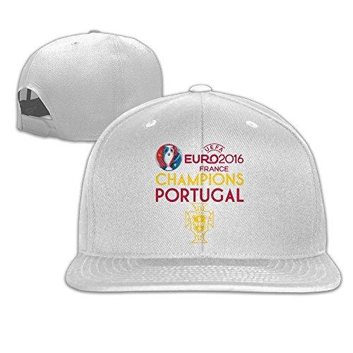 Cricket World Cup Adjustable Cap (Runy Portugal 2016 Soccer Champion Adjustable Baseball Hat & Cap White)