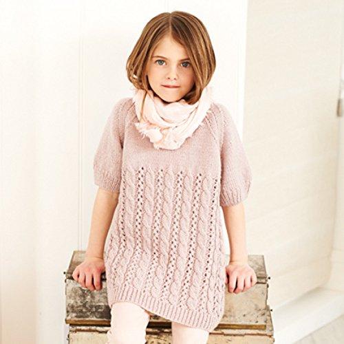 f370d9408a5e Stylecraft Girls Dress   Tunic Top Special Knitting Pattern 9399 DK ...