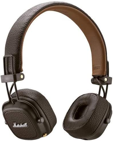 Marshall Bluetooth On-Ear Headphones Major III Bluetooth (Brown) ZMH-04092187【Japan Domestic Genuine Products】【Ships from Japan】