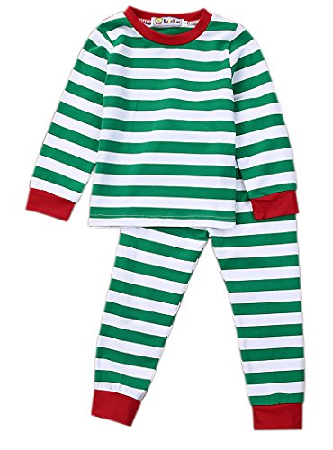 Infant Baby Kids Boys Girls Christmas Pajamas Cute