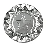 Royal Silver Star Aluminum Ashtrays, Package of 1000