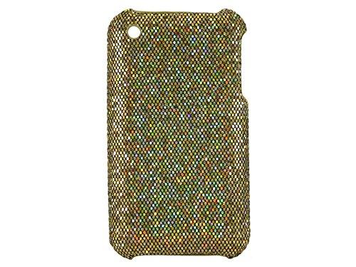 Telileo Back Case - Apple iPhone 3G - Glitzer Dunkelgelb