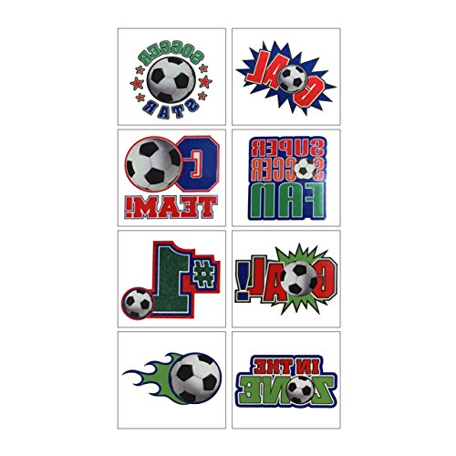 Soccer Tattoo, Party Favor for $<!--$4.99-->