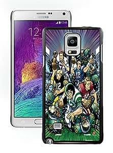 Fashionable DIY Custom Designed NFL Superstars Cover Case For Samsung Galaxy Note 4 N910A N910T N910P N910V N910R4 Black Phone Case CR-467