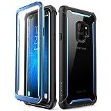 SUPCASE Galaxy S9 Case, Black/Blue