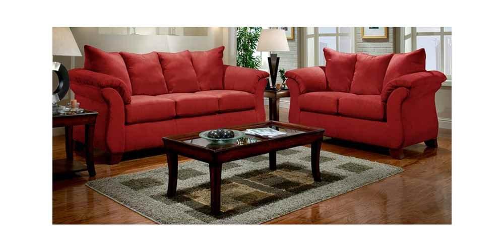affordable furniture sensations red brick sofa. Amazon.com: Flash Furniture Exceptional Designs By Living Room Set In Sensations Red Brick Microfiber: Kitchen \u0026 Dining Affordable Sofa S