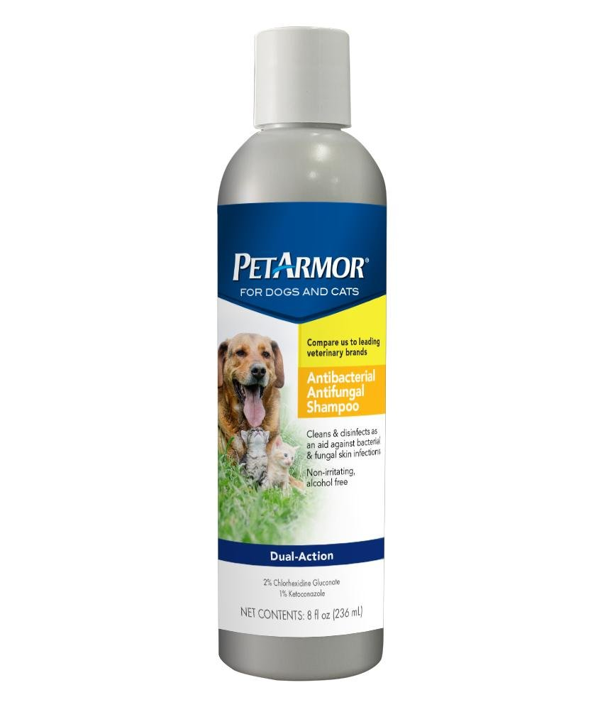 Amazon PetArmor Antibacterial Antifungal Shampoo for Dogs and